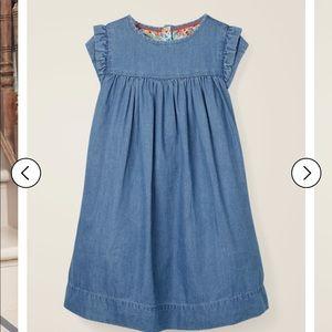Mini Boden Denim Everyday Dress size 11-12Y
